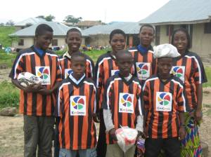 Ball Project balls find a new home at a youth soccer academy in Nigeria