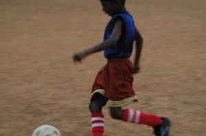 Moving the ball forward