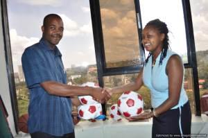 New soccer balls to Mfangano Island