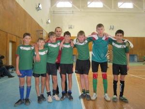 Soccer team from Bronnyki village