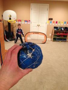 Ball Project handball!