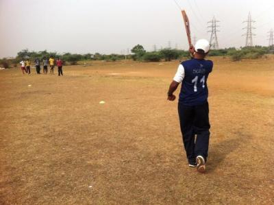 Ball Project cricket clinic May 2013I