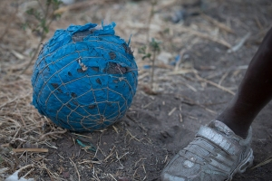 Village Ball in Zambia, photo by Brad Livengood 2013