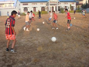 Ball Project practice in Nepal