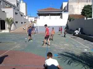 Brazilian football practice