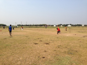 Ball Project cricket clinic in Chennai India