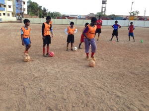 Ball Project soccer clinic Chennai India