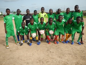 Angwan Maiyaki Team in Nigeria 2014