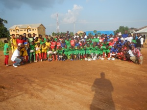 Teams in Nigeria using Ball Project balls