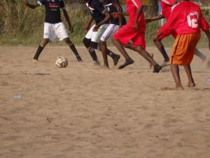 Sand soccer, Nigeria 12.2014