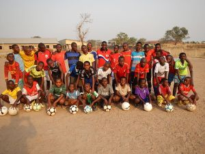 Dreams Alive Academy Nigeria teams 12.2014