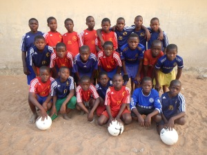 Dreams Alive team in Kwalli, Nigeria