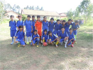 Ball Project partners in Cambodia