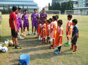 Ball Project partners in Indonesia