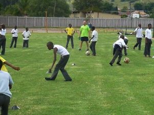 Ball Project partners in South Africa