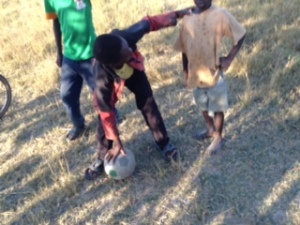 Ball Project soccer ball in Zambia!