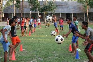 Ball Project balls at work in Bangladesh