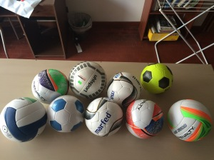 New Ball Project balls in Buenos Aires, Argentina