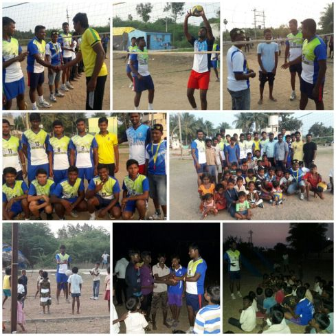 Volleyball Clinics in southern India