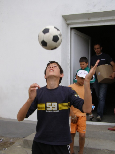 Football Juggling in Romania