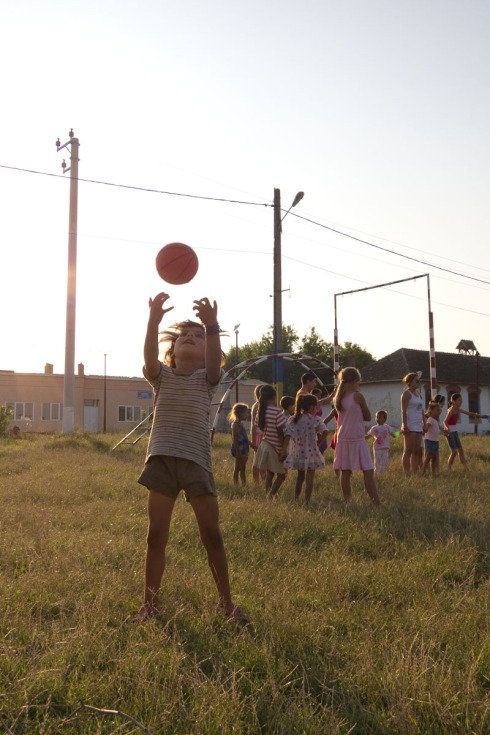 Ball Project partners in Romania