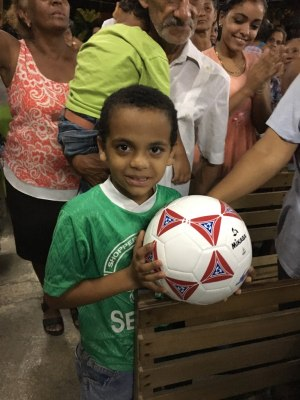 Cuba boy with ball