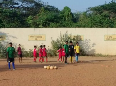 BP India soccer clinic 2 2019