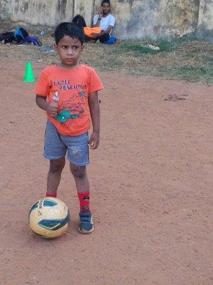 BP India soccer clinic 2019