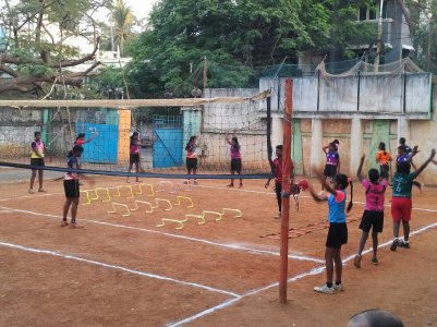 BP India volleyball clinic 2 2019