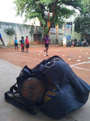 BP India volleyball clinic 2019