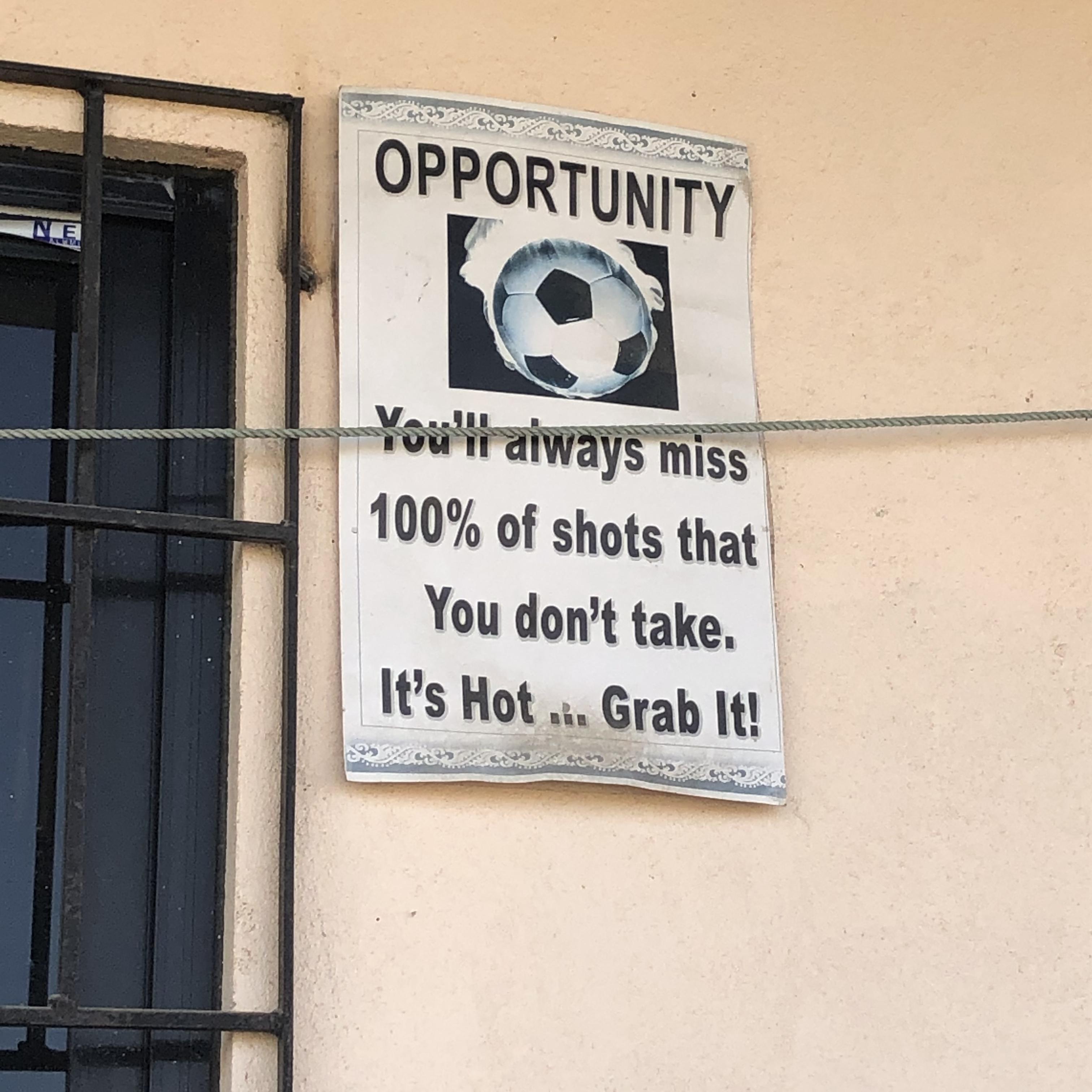 opportunity ball poster KTM