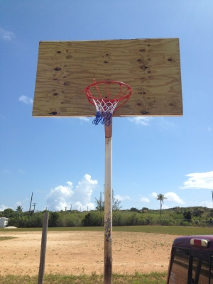 rehabbed basketball goal 2019
