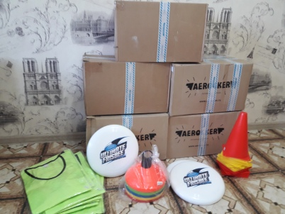 ultimate frisbee equipment 6.2019