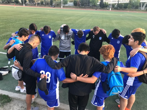 team circle prayer 2019