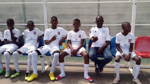 BP Angola team