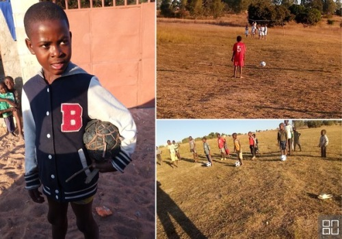 Angola Soccer clinic